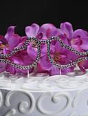 billige Slips og sløyfer-kake toppers kyssing fugler kake topper