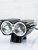 preiswerte Tanzzubehör-Stirnlampen Radlichter Fahrradlicht LED LED Radsport Stoßfest Wiederaufladbar Wasserfest Einfach zu tragen LED-Lampe 18650 2500 Lumen