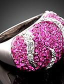 preiswerte Abendkleider-Damen Statement-Ring - Kubikzirkonia, Diamantimitate, Aleación Luxus, Modisch Eine Größe Farbbildschirm Für Party