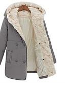 ieftine Bluze Damă-Pentru femei Șic & Modern Palton - Mată, Stil modern