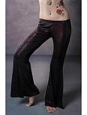 Χαμηλού Κόστους Ρούχα χορού της κοιλιάς-Χορός της κοιλιάς Παντελόνια Φούστες Γυναικεία Εκπαίδευση / Επίδοση Ελαστικό Πλεκτό Σατέν Χαμηλή Μέση