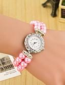 preiswerte Armband-Uhren-Damen Armband-Uhr / Armbanduhr Schlussverkauf Leder Band Perlen / Modisch Mehrfarbig / Ein Jahr / SODA AG4