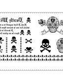 voordelige Damestruien-1 Non Toxic Onderrrug Waterproof Message Series Tatoeagestickers