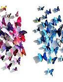 baratos Cachecol Feminino-Borboleta de Plástico Plástico / PVC Decorações do casamento Casamento / Festa Tema Borboleta / Tema Clássico Todas as Estações
