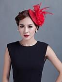 abordables Biquinis y Bañadores para Mujer-mujeres wedding party sinamay pluma fascinators sfc02062 estilo elegante