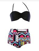 preiswerte Modische Unterwäsche-Damen Bikini UV-resistant, tragbar, Atmungsaktiv Baumwolle / Polyester Bademode Strandbekleidung Bademode / Kleidungs-Sets Sexy Schwimmen / Strand / Dehnbar