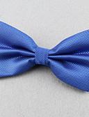 olcso Férfi nyakkendők és csokornyakkendők-Uniszex Egyszínű Poliészter, Party Munkahelyi - Csokornyakkendő