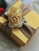 abordables Soportes para Regalo-Redondo Cuadrado Cúbico Papel de tarjeta Soporte para regalo  con Estampado Flor Cajas de regalos Cajas de Regalos - 6