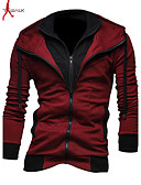 cheap Men's Exotic Underwear-Men's Sports Long Sleeves Hoodie - Solid Colored