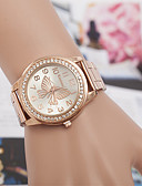 cheap Prom Dresses-yoonheel Women's Wrist Watch Imitation Diamond Metal Band Fashion / Elegant / Simulated Diamond Watch Silver / Gold / Rose Gold / One Year / SODA AG4