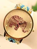 preiswerte Damenuhren-Damen Armbanduhr Quartz Modisch PU Band Armbanduhr Freizeit Schwarz - 4 # 5 # 7 #