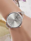 abordables Relojes de Moda-yoonheel Mujer Reloj de Pulsera Reloj Casual Metal Banda Casual / Moda / Minimalista Plata / Un año / SODA AG4
