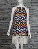 cheap Outlets-Women's Classic & Timeless Loose Dress - Multi Color, Others