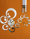cheap Vintage Dresses-Modern/Contemporary Other Round Indoor,AA Wall Clock