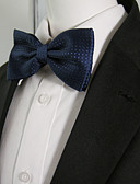 cheap Fashion Scarves-Men's Party Rayon Bow Tie - Solid Colored Bow Basic