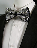 baratos Gravatas e Gravatas Borboleta-Homens Festa Gravata Borboleta - Laço / Camadas Estampa Colorida / Estampado Cashemere