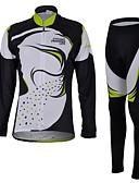 hesapli Gelin Şalları-Kadın's Uzun Kollu Bisiklet Giysi Setleri, Hızlı Kuruma, Ultravioleye Karşı Dayanıklı, Nefes Alabilir, 3D Pet