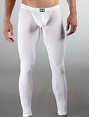 cheap Men's Underwear & Socks-Men's Cotton Super Sexy Long Johns Solid Colored