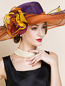 cheap Prom Dresses-Women's Flax Headpiece - Wedding/Special Occasion Hats 1 Piece
