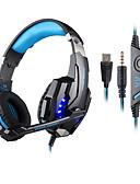 baratos Pólos Masculinas-KOTION EACH Sobre o ouvido / Bandana Com Fio Fones Plástico Games Fone de ouvido Com controle de volume / Com Microfone / Isolamento de