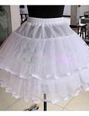 hesapli Düğün Jüponları-Düğün Özel Anlar Günlük Slipler Tül Diz-uzunluğunda Balo Elbisesi Alt Giyimi ile