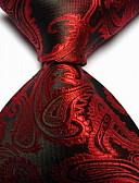 cheap Men's Ties & Bow Ties-Men's Party Work Basic Polyester Necktie Print