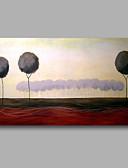 billige Eksotisk herreundertøy-Hang malte oljemaleri Håndmalte - Landskap Moderne Lerret