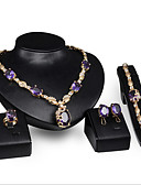 cheap Women's Belt-Women's Synthetic Amethyst Jewelry Set - Include Purple For Wedding Party Special Occasion