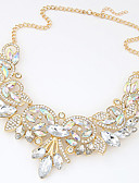 cheap Fashion Headpieces-Statement Necklace - Princess Statement, Luxury, European Gold, Purple Necklace For Wedding, Party, Special Occasion