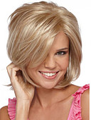 cheap Fashion Watches-Synthetic Wig Straight Synthetic Hair Side Part Blonde Wig Women's Short Capless