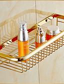 hesapli Gelin Şalları-Banyo Rafı Neoklasik Pirinç 1 parça - Otel banyo
