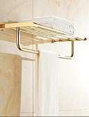 cheap Evening Dresses-Bathroom Shelf Contemporary Brass 1 pc - Hotel bath Double