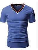 preiswerte Herren T-Shirts & Tank Tops-Herrn Solide T-shirt Druck