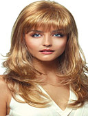 cheap Men's Exotic Underwear-Synthetic Wig Curly Blonde Synthetic Hair Blonde Wig Women's Medium Length Capless Blonde