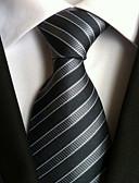 זול עניבות ועניבות פרפר לגברים-עניבת צווארון - יצירתי מסוגנן פאר קלסי מסיבה פסים חתונה בגדי ריקוד גברים
