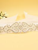 cheap Women's Swimwear & Bikinis-Satin Wedding / Party / Evening Sash With Rhinestone / Beading Women's Sashes