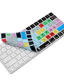 billige AirPods Cases-xskn premiere pro cc snarvei tastaturet dekselet silikon hud for magi tastatur 2015-versjonen, oss layout