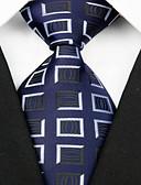 abordables Corbatas y Pajaritas para Hombre-Hombre Elegante Corbata - Lujo Cuadrícula Clásico Fiesta Boda Creativo