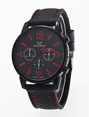 baratos Relógio Elegante-Homens Relógio de Pulso Relógio Casual Silicone Banda Amuleto Branco / Vermelho / Laranja / Jinli 377