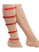 رخيصةأون قبعات نسائية-للمرأة Leggings جورب تدفئة الساق منحف الأفخاذ Chinlon أسود اللون الأصلي