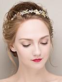 Χαμηλού Κόστους Πέπλα Γάμου-Κρύσταλλο / Κράμα Κεφαλές / Στεφάνια με 1 Γάμου / Ειδική Περίσταση Headpiece