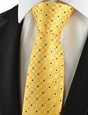 abordables Sombreros de  Moda-Hombre Elegante Corbata - Lujo Cuadrícula Clásico Fiesta Boda Creativo