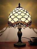 billiga Damkostymer-Flerfärgad skärm Tiffany / Rustik / Stuga / Originell Skrivbordslampa Harts vägg~~POS=TRUNC 110-120V / 220-240V 25W
