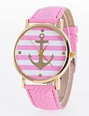 preiswerte Kleideruhr-Damen Armbanduhr Armbanduhren für den Alltag PU Band Charme / Freizeit / Modisch Schwarz / Weiß / Blau / Ein Jahr / Jinli 377