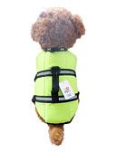 billiga Byxor-Hund Väst Livväst Hundkläder Orange Grön Nylon Kostym För husdjur Herr Dam Vattentät