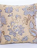baratos Cintos de Moda-1 pçs Chenilhe Poliéster Cobertura de Almofada, Floral Tradicional
