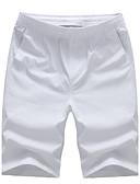お買い得  メンズパンツ-男性用 ベーシック ショーツ リラックス パンツ パンツ ソリッド