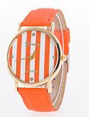cheap Quartz Watches-Women's Wrist Watch Hot Sale Leather Band Stripes / Fashion Black / White / Blue / One Year / Tianqiu 377