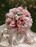 "baratos Bouquets de Noiva-Bouquets de Noiva Buquês Casamento / Festa / Noite Seda 9.84""(Aprox.25cm)"