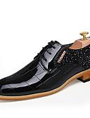 olcso Örömanya ruhák-Férfi Formális cipők Lakkbőr Ősz / Tél Félcipők Fekete / Piros / Party és Estélyi
